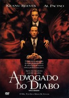 The Devil's Advocate - Brazilian Movie Poster (xs thumbnail)