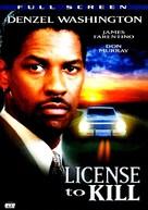 License to Kill - DVD cover (xs thumbnail)