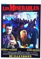 Les misérables - Belgian Movie Poster (xs thumbnail)