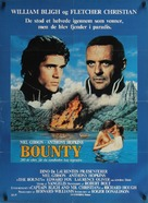 The Bounty - Danish Movie Poster (xs thumbnail)