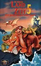 The Land Before Time 5 - German VHS cover (xs thumbnail)