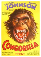 Congorilla - Swedish Movie Poster (xs thumbnail)