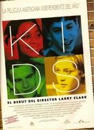 Kids - Spanish Theatrical movie poster (xs thumbnail)
