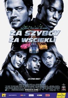 2 Fast 2 Furious - Polish Movie Poster (xs thumbnail)