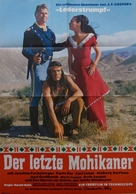Der letzte Mohikaner - German Movie Poster (xs thumbnail)