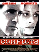 Conspiracy Theory - French Movie Poster (xs thumbnail)