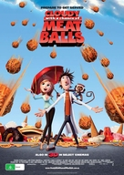 Cloudy with a Chance of Meatballs - Australian Movie Poster (xs thumbnail)