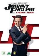 Johnny English Strikes Again - Danish DVD movie cover (xs thumbnail)