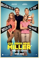 We're the Millers - Vietnamese Movie Poster (xs thumbnail)