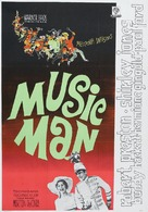 The Music Man - Swedish Movie Poster (xs thumbnail)
