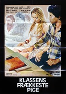 La liceale, il diavolo e l'acquasanta - Danish Movie Poster (xs thumbnail)