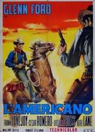 The Americano - Italian Movie Poster (xs thumbnail)
