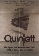 Quintet - German Movie Poster (xs thumbnail)