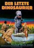 The Last Dinosaur - German Movie Poster (xs thumbnail)