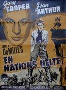 The Plainsman - Danish Movie Poster (xs thumbnail)