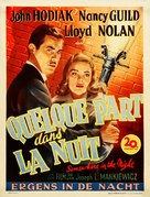 Somewhere in the Night - Belgian Movie Poster (xs thumbnail)