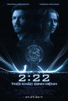 2:22 - Vietnamese Movie Poster (xs thumbnail)