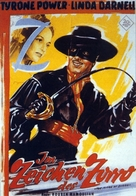 The Mark of Zorro - German Movie Poster (xs thumbnail)