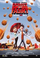 Cloudy with a Chance of Meatballs - Hungarian Movie Poster (xs thumbnail)