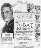 The Bat Whispers - Movie Poster (xs thumbnail)