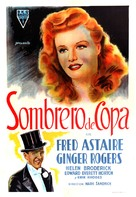 Top Hat - Argentinian Movie Poster (xs thumbnail)