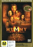 The Mummy Returns - New Zealand DVD cover (xs thumbnail)
