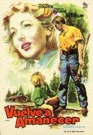 Rachel and the Stranger - Spanish Movie Poster (xs thumbnail)