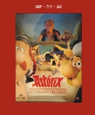 Astérix: Le domaine des dieux - French Blu-Ray cover (xs thumbnail)