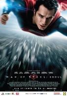 Man of Steel - Romanian Movie Poster (xs thumbnail)