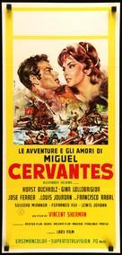 Cervantes - Italian Movie Poster (xs thumbnail)
