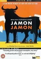 Jamón, jamón - British DVD cover (xs thumbnail)