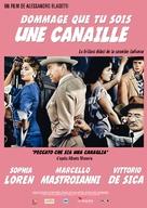 Peccato che sia una canaglia - French Movie Poster (xs thumbnail)
