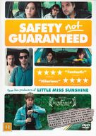 Safety Not Guaranteed - Danish DVD cover (xs thumbnail)