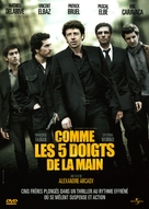 Comme les cinq doigts de la main - French Movie Cover (xs thumbnail)