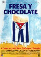 Fresa y chocolate - French Movie Poster (xs thumbnail)