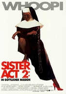 Sister Act 2: Back in the Habit - German Movie Poster (xs thumbnail)