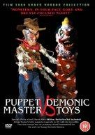 Puppet Master vs. Demonic Toys - British Movie Cover (xs thumbnail)