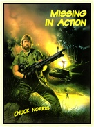 Missing in Action - Czech DVD cover (xs thumbnail)