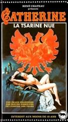 Katharina und ihre wilden Hengste, Teil 1 - Katharina, die nackte Zarin - French VHS cover (xs thumbnail)