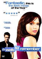 A Walk to Remember - British DVD movie cover (xs thumbnail)