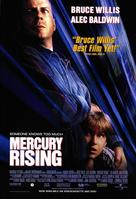 Mercury Rising - Video release poster (xs thumbnail)