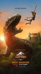 """Jurassic World: Camp Cretaceous"" - Italian Movie Poster (xs thumbnail)"