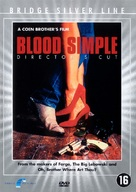 Blood Simple - Dutch DVD cover (xs thumbnail)