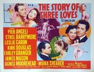 The Story of Three Loves - British Movie Poster (xs thumbnail)