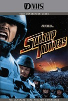 Starship Troopers - VHS movie cover (xs thumbnail)
