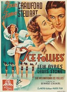 The Ice Follies of 1939 - Belgian Movie Poster (xs thumbnail)