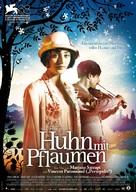 Poulet aux prunes - German Movie Poster (xs thumbnail)