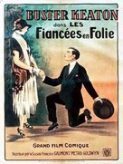 Seven Chances - French Movie Poster (xs thumbnail)