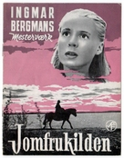 Jungfrukällan - Danish Movie Poster (xs thumbnail)