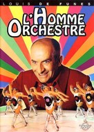L'homme orchestre - French DVD cover (xs thumbnail)